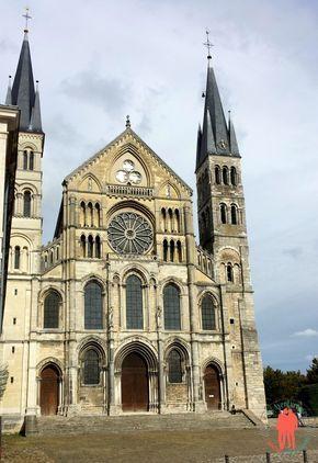 Visiter Reims - Basilique Saint Remy. Un incontournable méconnu de la ville des sacres.