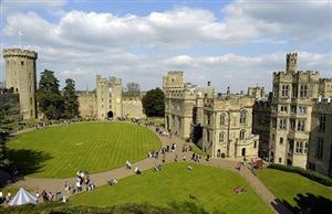 | ? |  Warwick Castle from atop - England  | by © John Mueller