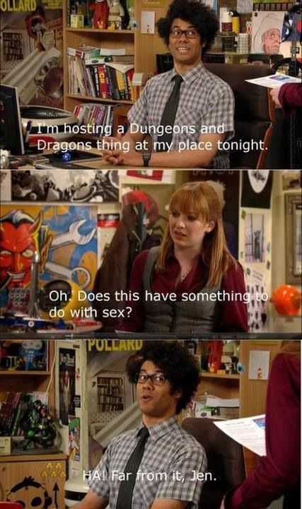 Moss explains Dungeons and Dragons