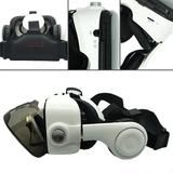 Virtual Reality Glasses Headphone for Android w/ Bluetooth Remote