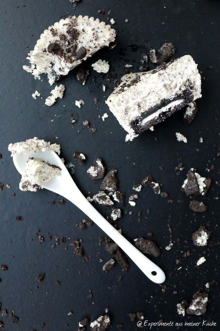 Experimente aus meiner Küche: Mini-Oreo-Cheesecake