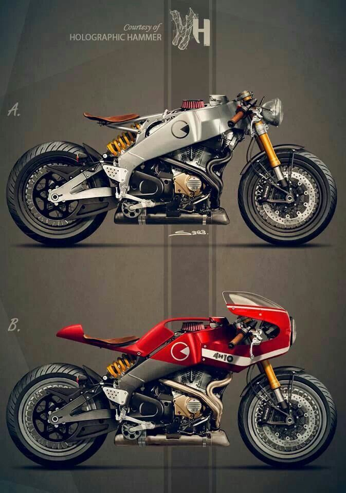 Maravillosa caffe Racer basada en una Ducati!!