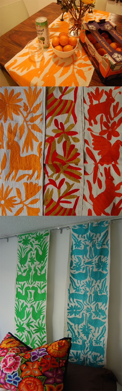 Otomi Fabric Runner - Mexico