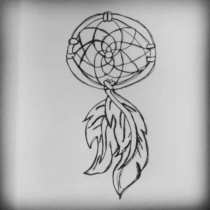 Dream Catcher doodle :)