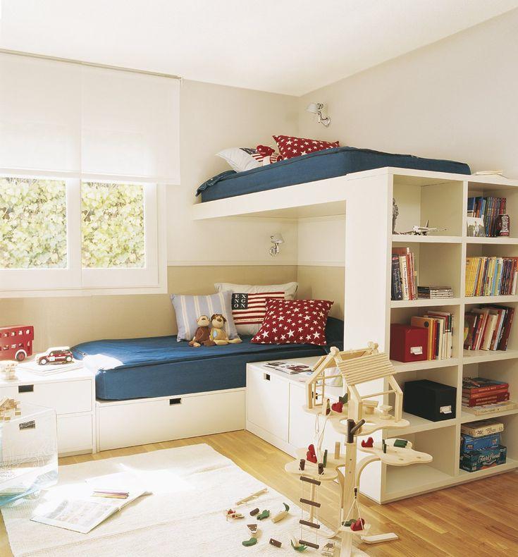 Organiza la habitación de los niños · ElMueble.com · Niños: