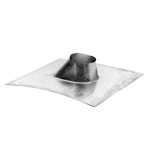 DuraVent 4GVF Aluminum (Silver) Adjustable Roof Flashing with 4 Inner Diameter