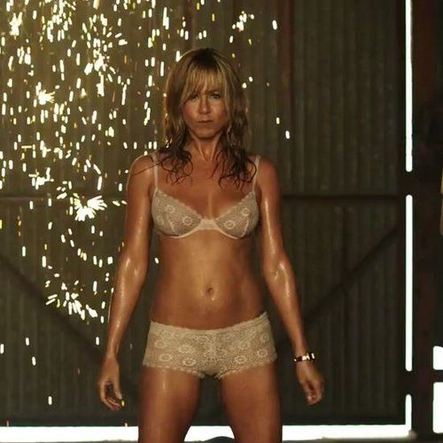 Jennifer Aniston Pole Dancing in We're the Millers