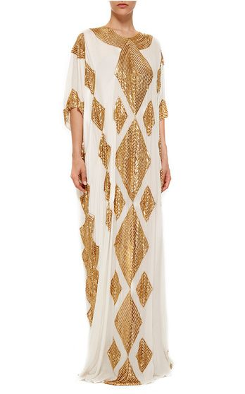 Curated Collection: The Caftan Resort 2016 Look 1 on Moda Operandi