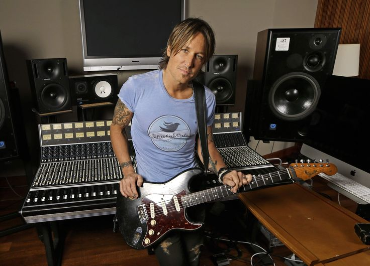 """NASHVILLE, Tenn. — Keith Urban's boundary-pushing album """"Ripcord"""" has spawned several top country singles and led him to pick up seven"""