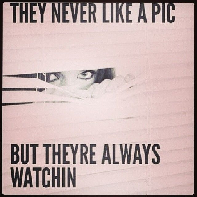 Or they always see a good pin of urs but wont like it ;)