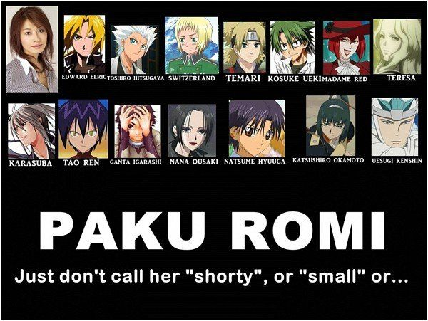 Japanese Voice actors - presenting Paku Romi ugh, i should have realised it sooner ren and natsume kinda like had the same voice and it does!