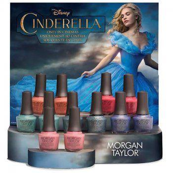 Morgan Taylor Cinderella Nail Polish Collection 2015 - Mini Pack (x4 Quad MINI Set) 4x 4ml
