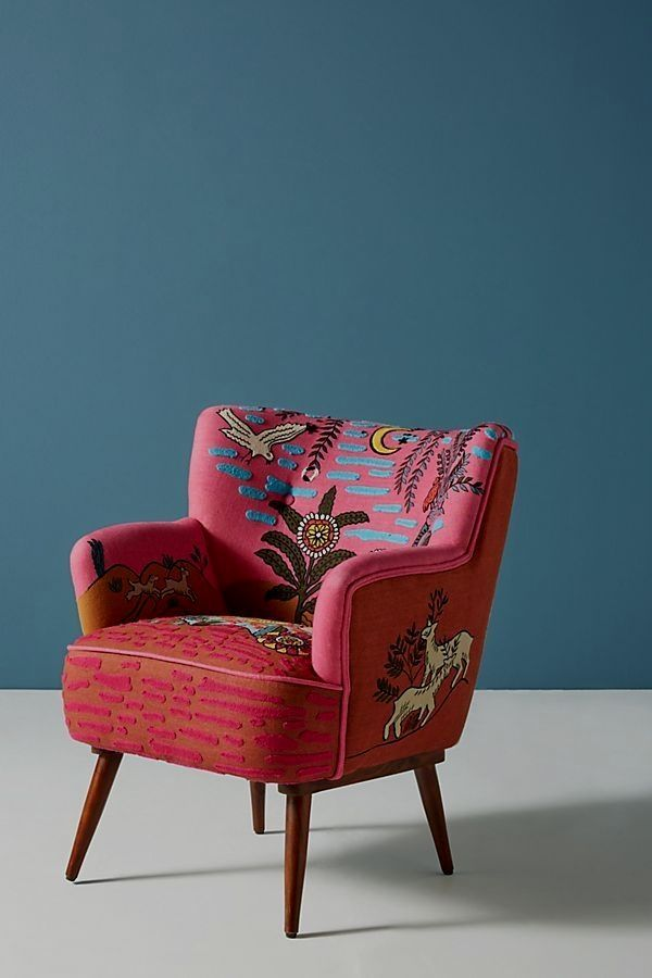 Imagined World Petite Accent Chair Vintage Chairs Accent Chairs Shabby Chic Furniture #shabby #chic #living #room #chairs