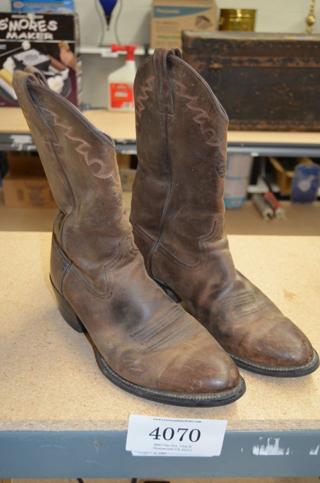 ARIAT brown leather boots size US 12 D