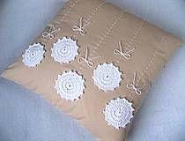 Úžitkový textil - alchýmia Lilium candidum.... - 4330733_