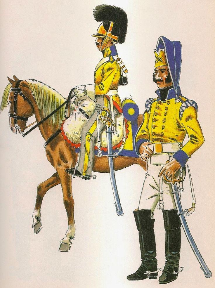 Spanish; Dragones de Granada 1808
