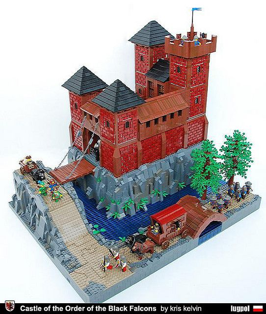 lego Castle of the Order of Black Falcons