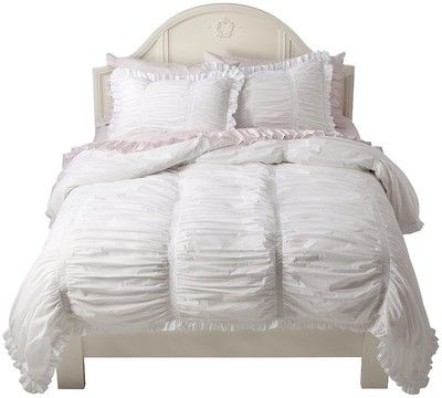 love this bedding simply shabby chic smocked duvet cover set target mobile