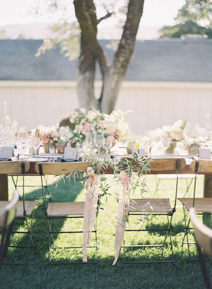 428 best images about Wedding Chair Decor Aisle Markers on