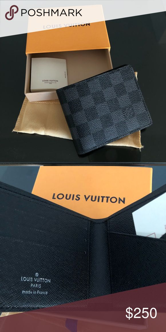 Louis Vuitton Mens Wallet New and comes with original dustbag and box   Got as a gift don't need it Other