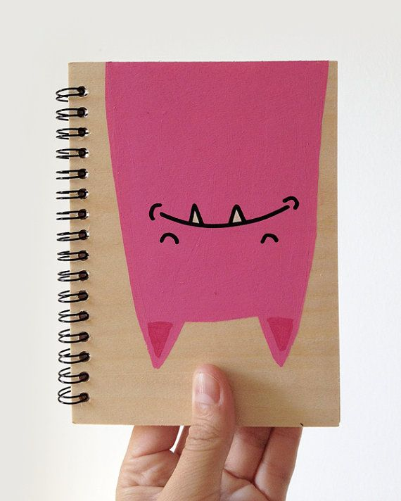 Hand painted notebook on Etsy, 37.38₪