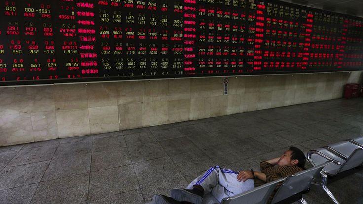 China's plunging stock markets have virtually shut down http://qz.com/447630/chinas-plunging-stock-market-has-virtually-shut-down/