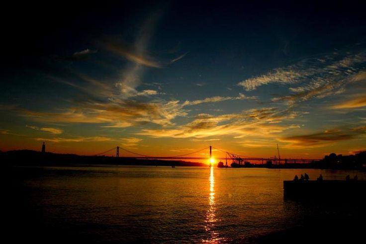 Lisboa - Foz do Rio Tejo.