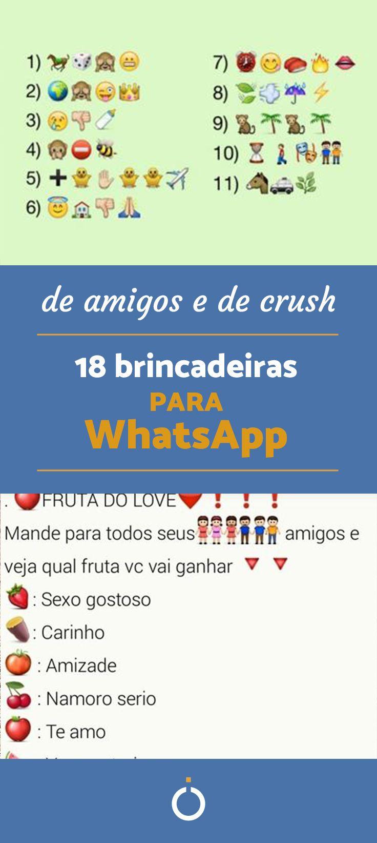 960ac1e9f As 20 MELHORES brincadeiras para WhatsApp