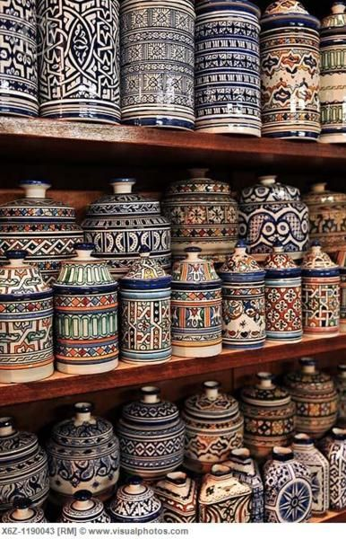 fez pottery.
