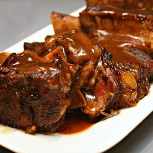 Beer Braised Pork Ribs Recipe