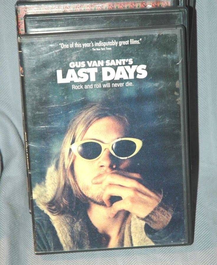 Gus Van Sant's Last Days Nirvana Kurt Cobain Biography DVD (Grunge Rock and Roll #RivalMadness