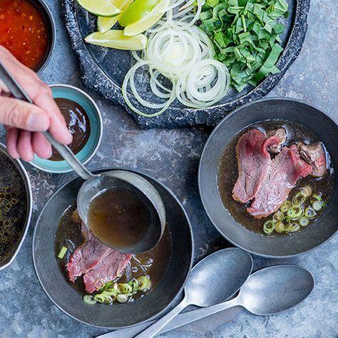 Pho (Vietnamese noedelsoep) - recept - okoko recepten