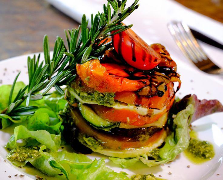 Grilled Vegetable & Mozzarella Tiann