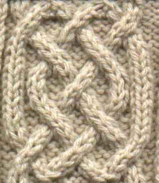 Simple Celtic Cable #knitting #patterns: Celtic Cable, Celtic Knots, Celtic Knits, Knits Charts, Knits Pattern, Cable Pattern, Knitting Charts, Knits Cable, Cable Knits