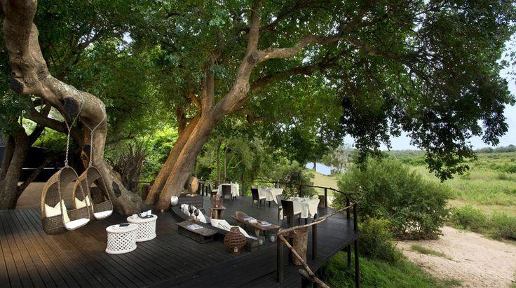 Lion Sands Ivory Lodge   Bench Africa