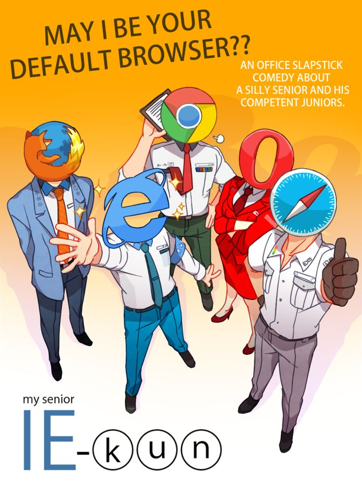 Internet Browsers, Personified