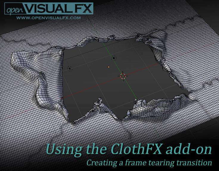 Using the ClothFX add-on