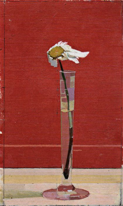 Euan Uglow Daisy (part of Daisy Triptych), 1991 Oil on canvas laid panel