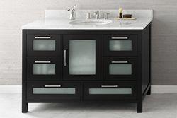 """48"""" Ronbow Athena Bathroom Vanity (031548-1) #Ronbow #HomeRemodel #BathroomRemodel #BlondyBathHome #BathroomVanity"""