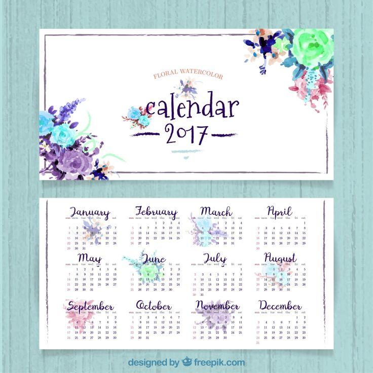 17 mejores ideas sobre Calendario 2017 en Pinterest | Agendas ...
