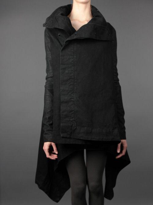 Outerwear blaqq  ossadifarfalla.tumblr.com
