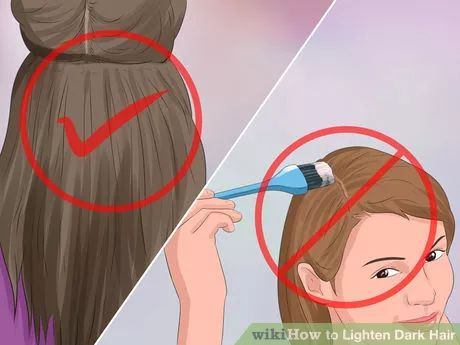 Image titled Lighten Dark Hair Step 2
