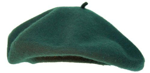 French Beret- Forest Green Greatlookz http://www.amazon.com/dp/B000IE5TDQ/ref=cm_sw_r_pi_dp_XOXfub163DVNM $10 | Amazon | Troop Beverly Hills | Halloween