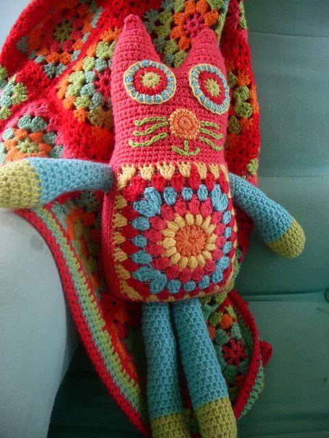 crochet kitty