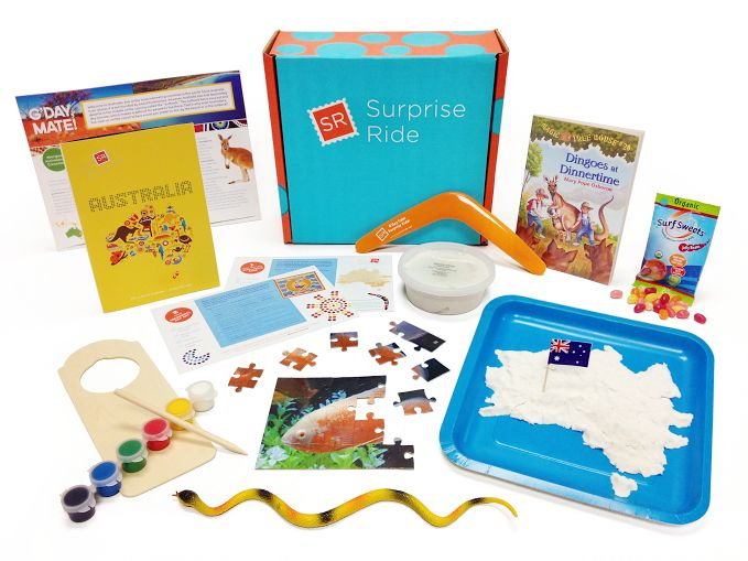 Surprise Ride is a subscription box for kids ages 6-11, delivering a monthly box of hands-on activities that explore a fun new theme each month. Learn more about Surprise Ride and read the latest Surprise Ride reviews at Find Subscription Boxes.  http://www.findsubscriptionboxes.com/box/surprise-ride/