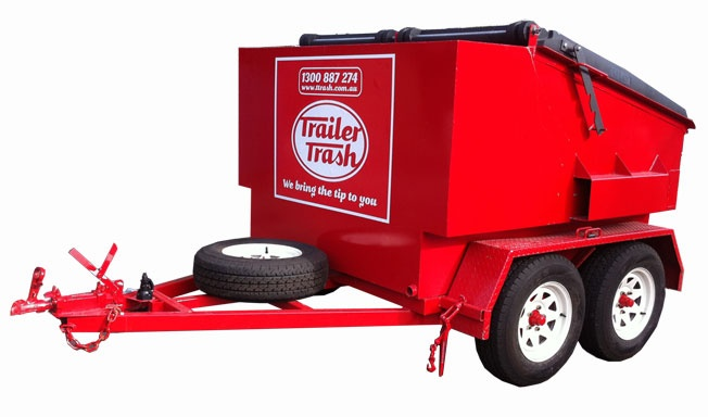 3 cubic metre skip bin for super-low access areas.
