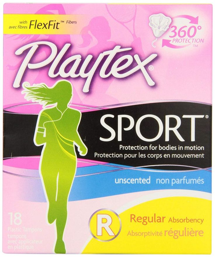 Playtex Sport Unscented Tampons with FlexFit Protection