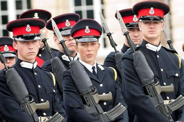 Sovereign's Parade Royal Military Academy Sandhurst | The Times