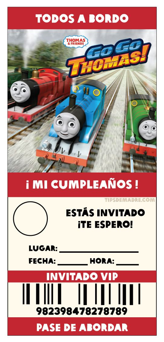 15 best Thomas - Party images on Pinterest | Friends, Candies and ...