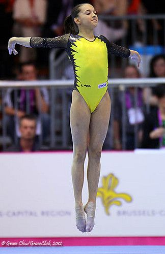 I love this leotard ON LARISA. I don't think anyone else could pull off this colour other than Larisa. Hands down favourite Leo of the year.